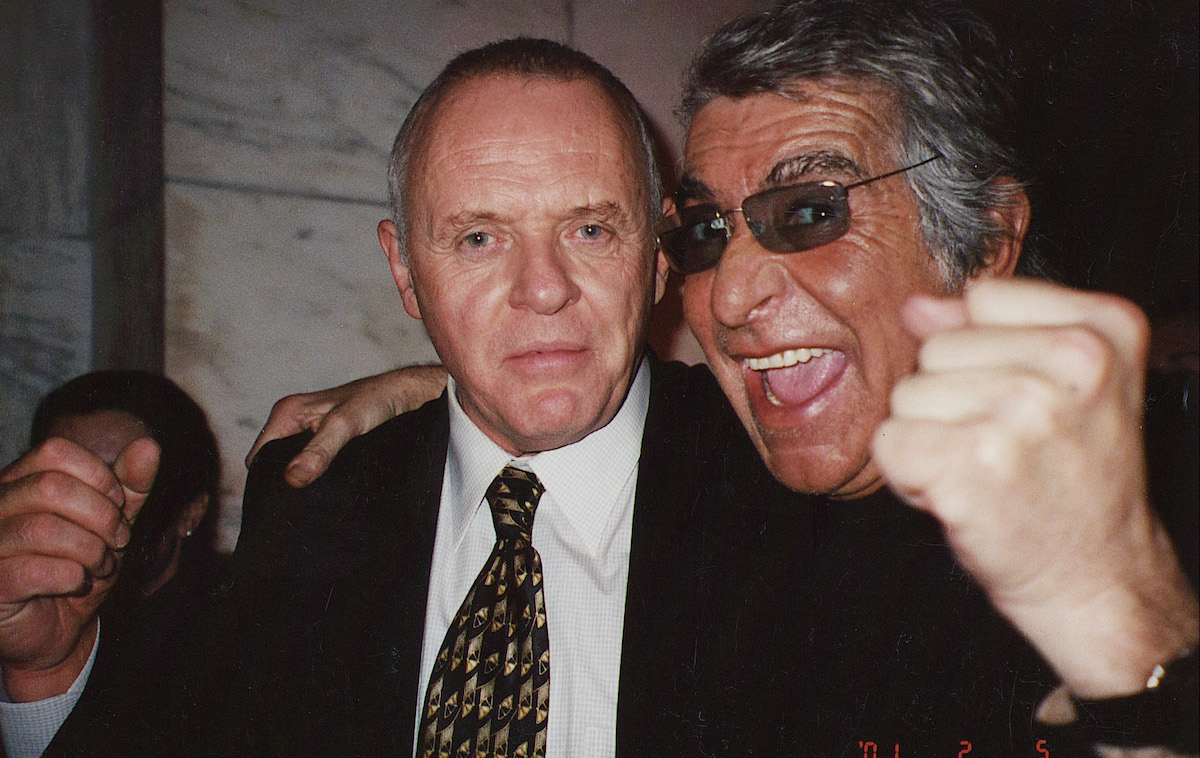Antony Hopkins e Roberto Cavalli
