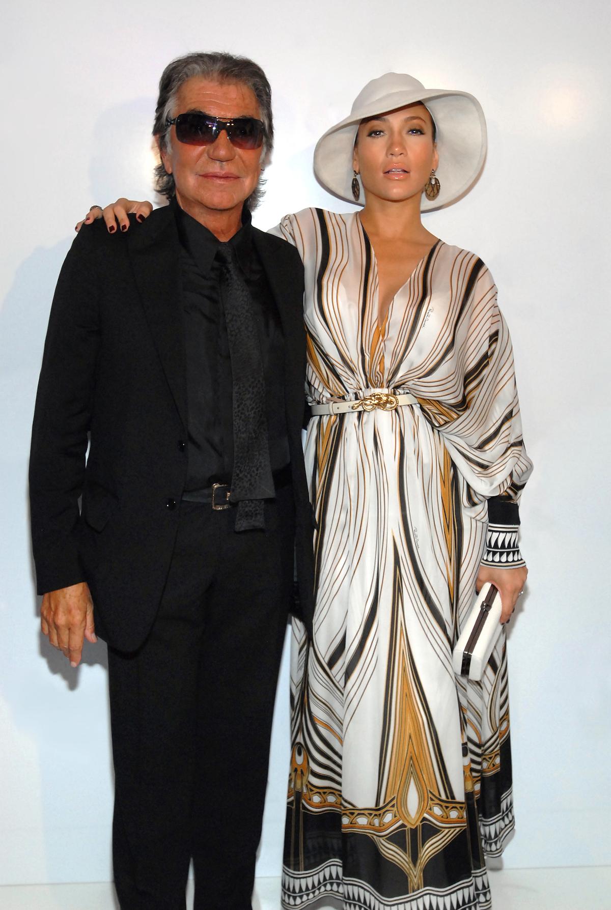 Jennier Lopez and Roberto Cavalli (2)