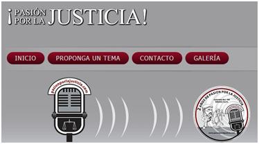 Link Programa de Radio transmitido el sábado pasado PASIÓN POR LA JUSTICIA sobre CCSS