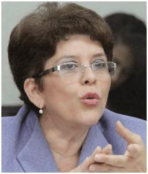 VOTO DE CONFIANZA a la señora Contralora General de la República, por su abnegada labor de denunciar de manera abierta LA CORRUPCIÓN.