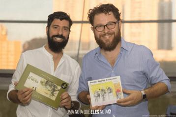 Con l'illustratore Attiliol Palumbo