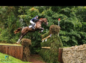 Roberto Rotatori e il suo cavallo Castlerichmond CIC3* 8/9 yo Blenheim International Horse Trials 2017