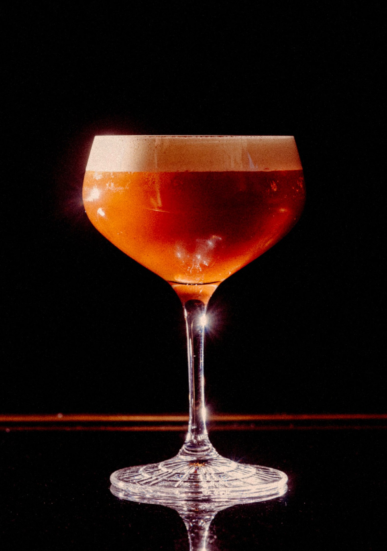 Recipe: 4cl Russian Standard Vodka 3cl Kahlúa 4cl Lavazza Ristretto 0.5cl White Chocolate Syrup Coffee Beans