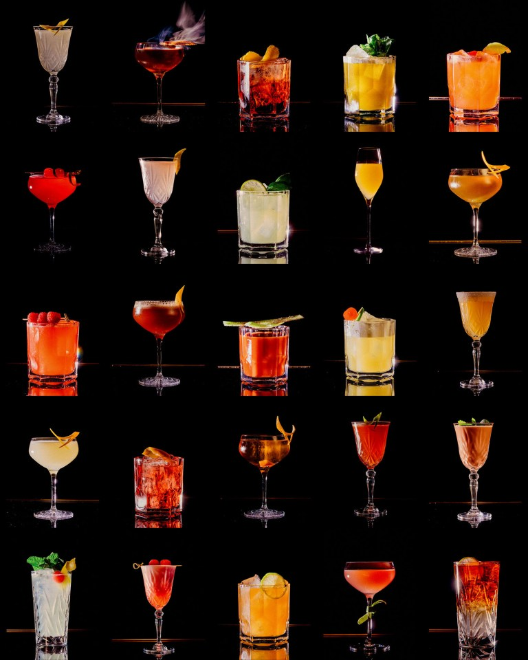 Roberto American Bar Cocktails 1