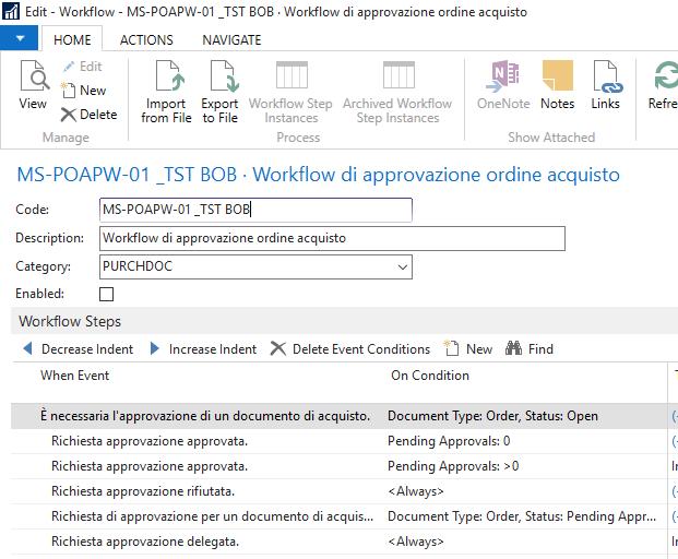 nav workflow 17