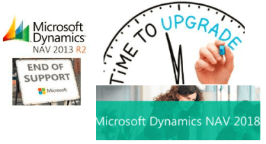 Upgrading to Microsoft Dynamics NAV 2018, documents updated on
