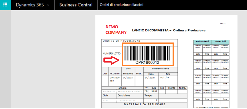Barcodes & QRCodes in Dynamics 365 Business Central SaaS – Roberto