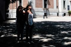 Fotos del curso de fotografía de madrid en julio 2017. Peinados