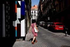 Fotos del curso de fotografía de madrid en julio 2017. Escenas urbanas coloridas