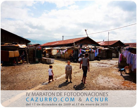 IV Maratón de Fotodonaciones CAZURRO.COM + ACNUR