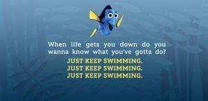 September 17 – Just Keep Swimming