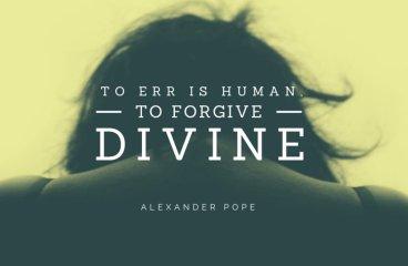 April 20 – I Err. I Learn. I'm Forgiven