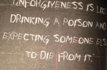 July 18 – Sipping The Poison Of Unforgiveness.