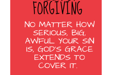 September 22 – You Are FOR-GIVEN