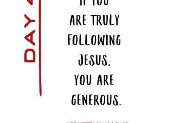 September 13 – Giving Is Living