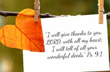 Nov 28 – Giving-Thanks