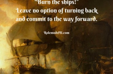 Nov 1 – Burn The Ships, Cut The Nets