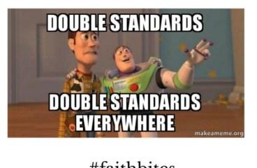 Jan 24 – Double Standard