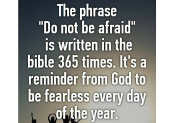 Mar 8 – Do Not Be Afraid
