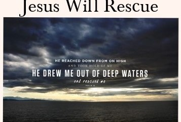Apr 16 – Rescue Me
