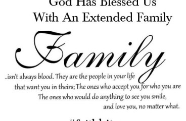 August 2 – What is Family?