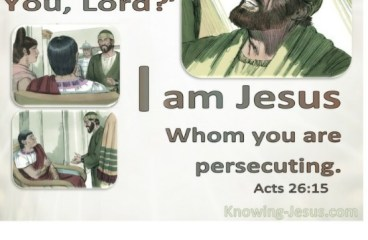 Sep 4 – Are You Persecuting Christ?