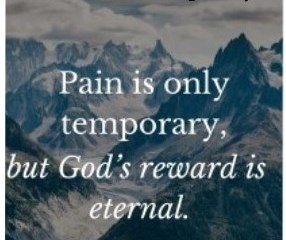 Sep 19 – Pain is Temporary, Memories Last Forever