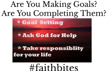 Oct 9 – Completing Your Goals