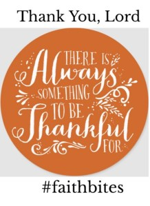Nov 26 – Thanks In All Things