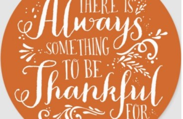 Nov 26 – Thanks In All Things