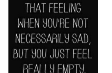 Dec 11 – Feel Empty, Seeking Fulfment