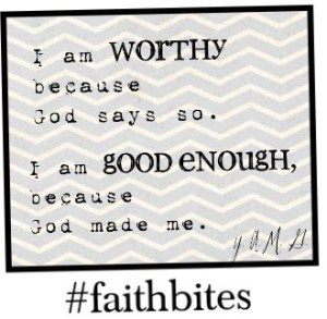 Read more about the article April 15 – Because of Jesus, I Am Worthy