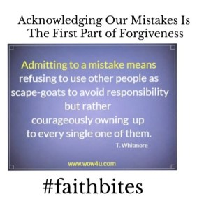 Read more about the article July 1 – Acknowledging Your Mistakes and Moving Forward