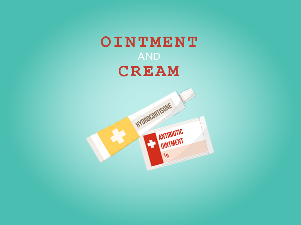 Ointment and cream