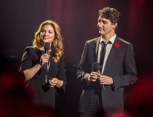 PM Trudeau's wife reminds 17,000-strong hometown event that Canada's most famous Jew 'belongs to the world'