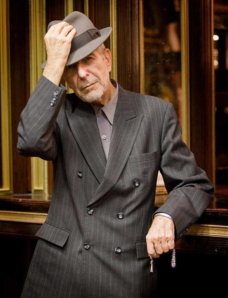 Leonard Cohen, 1980. (Courtesy)