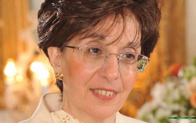 Sarah Halimi. (Courtesy of the Confédération des Juifs de France et des amis d'Israël)