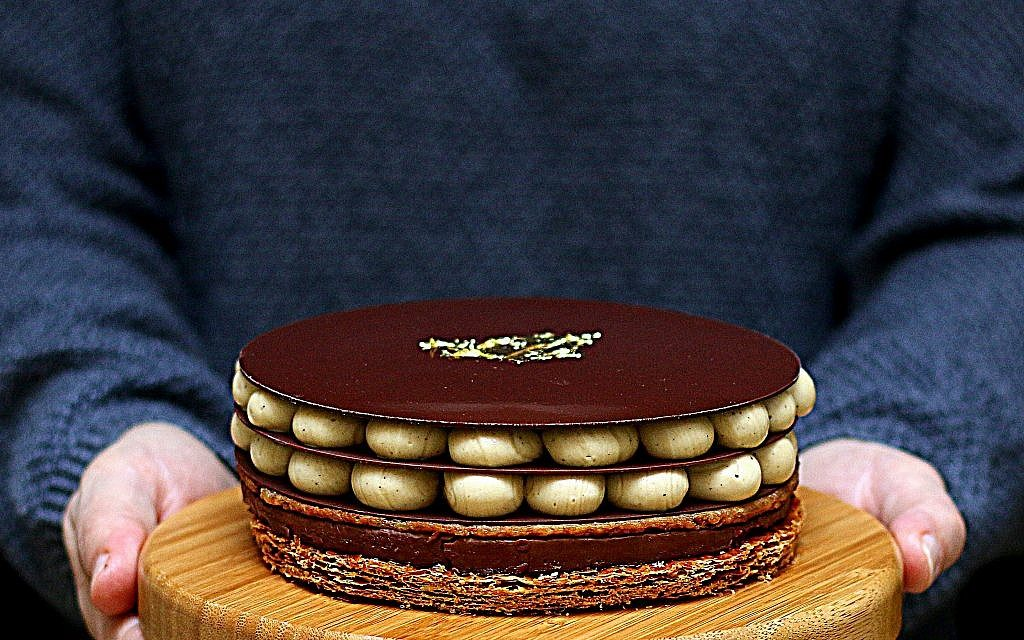 Opera a ma facon, by French pastry chef Pierre Herme. (Courtesy)