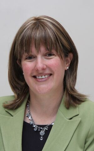 Wendy Kahn, national director of the South African Jewish Board of Deputies. (Courtesy)