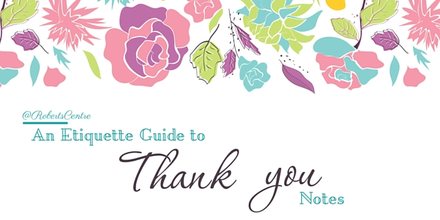 Wedding Gift Thank You Etiquette Tips