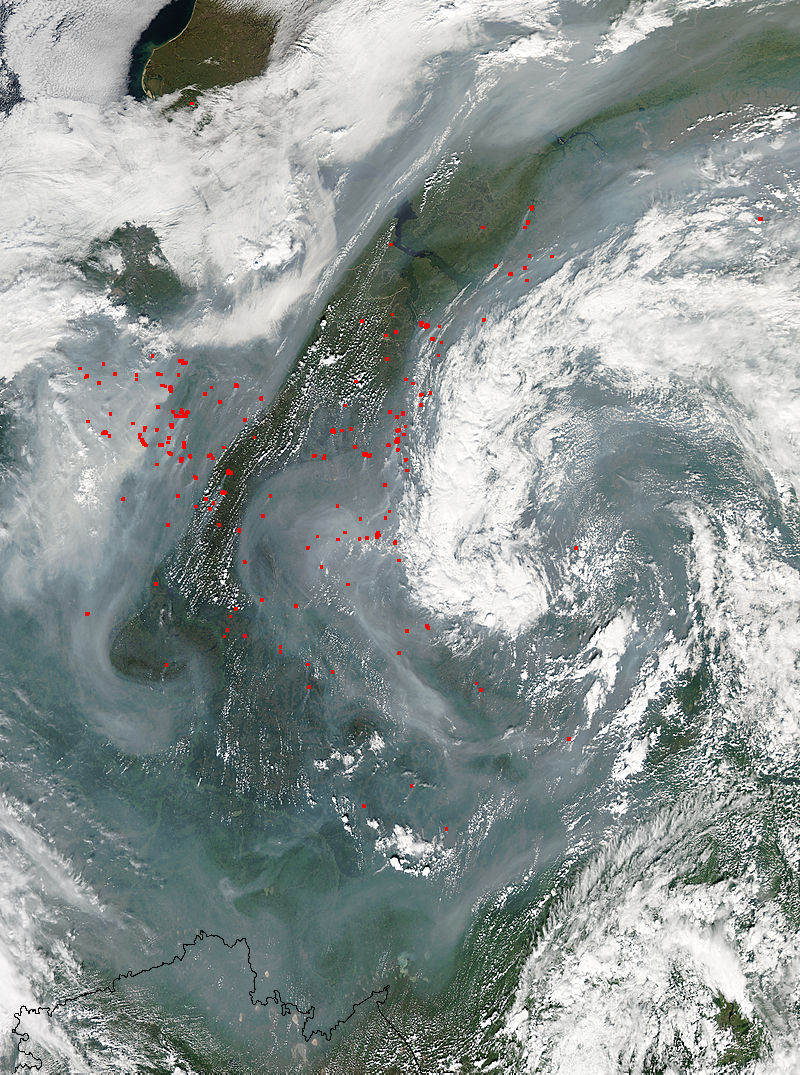 Heat Dome Wildfires Methane Pulse Expand Blanketing