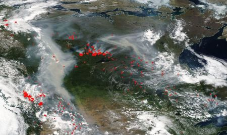 North American Wildfires
