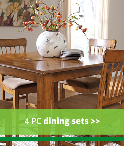 Elegant and Low Priced Dining Room Furniture at Our Hampton  VA Store 4 PC Dining Sets