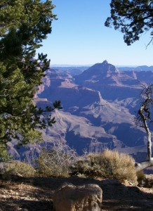 The Grand Canyon looking East.