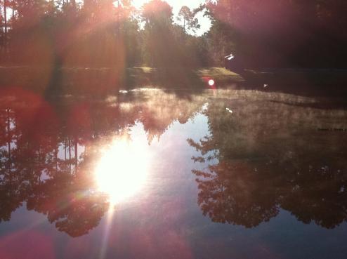 Beautiful Hallstrom Lake