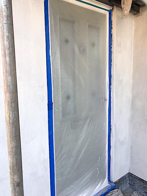 Door protected