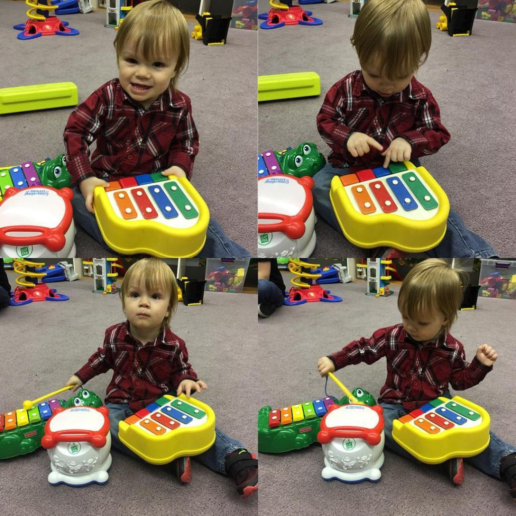 A musical morning with Asher