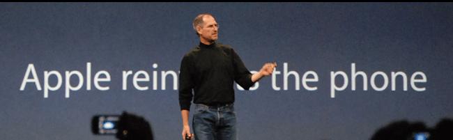 Steve och Apple lanserar iPhone 5