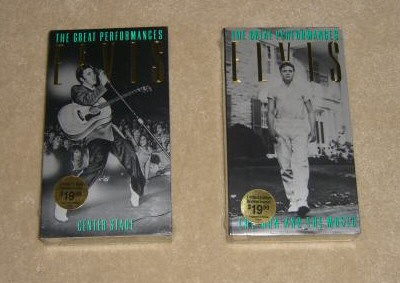 Image result for VHS Elvis Greatest Performances 1 & 2.