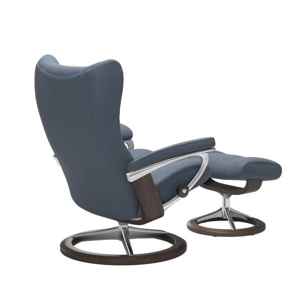 Wing Signature Stressless Recliner 1